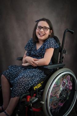 Jessie, Wheelchair User, Zebedee Managem