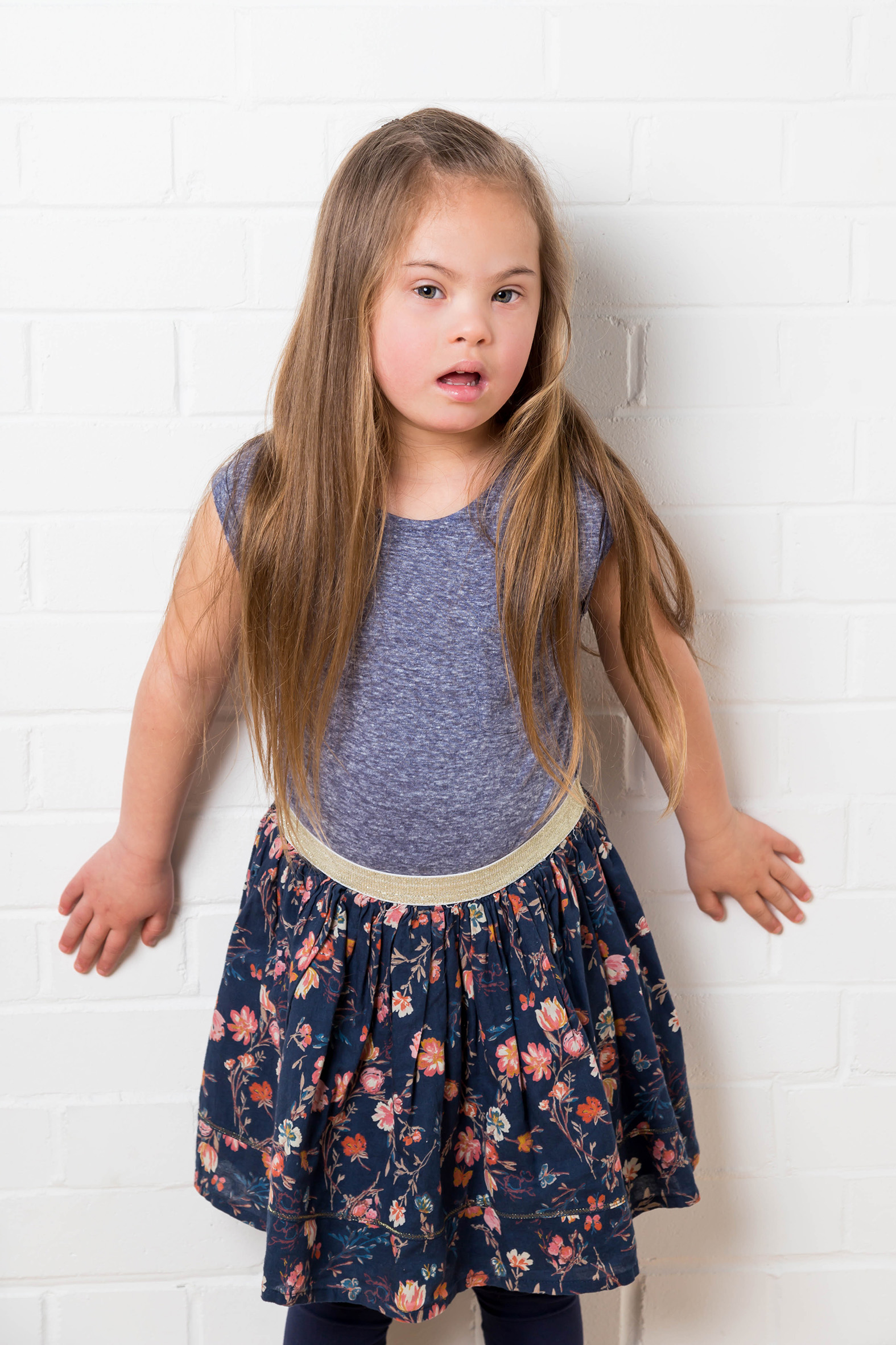 Maia, Down Syndrome model, Zebedee Management, disabled, model agency, disability, girl 06
