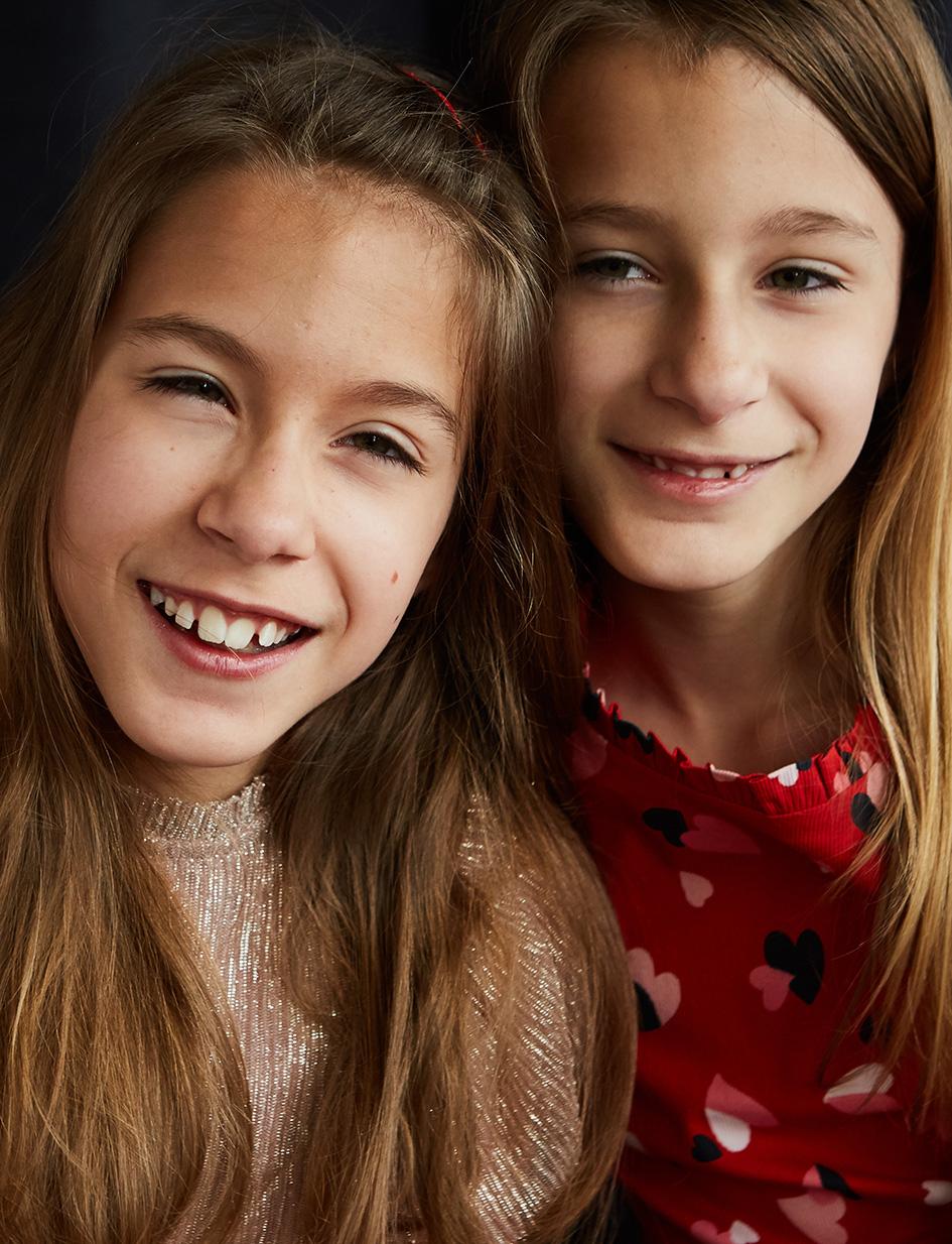 Rebecca & Charlotte, Identical Twins Cer