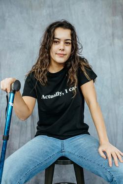 Tallulah, Zebedee Management, disabled,