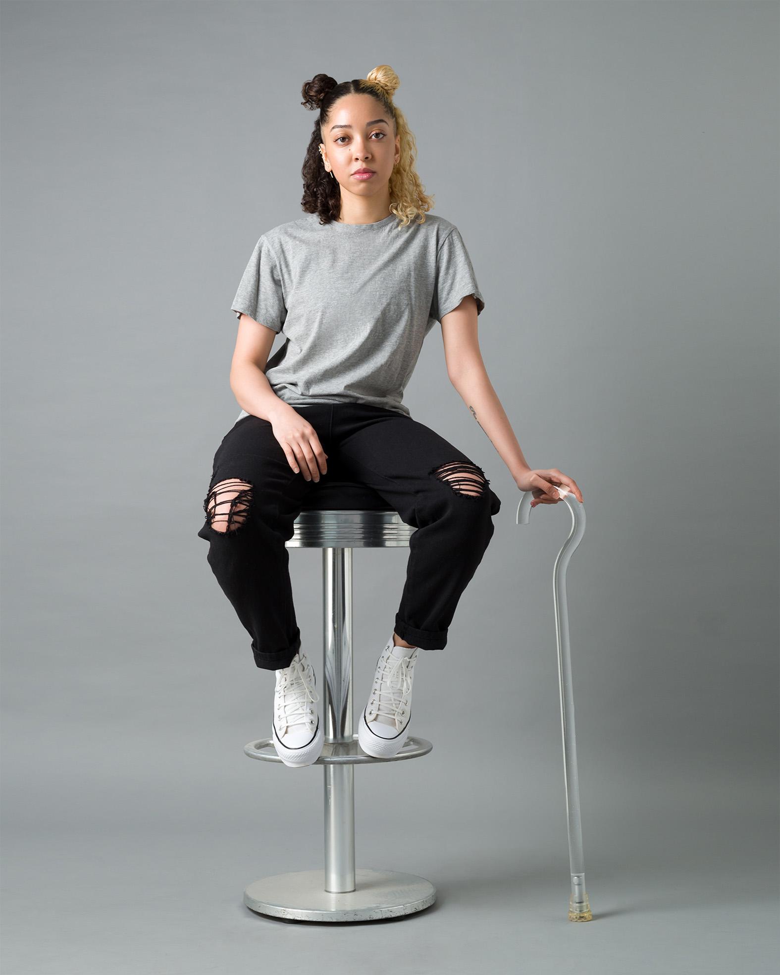 Dol, Zebedee Management, disabled, model