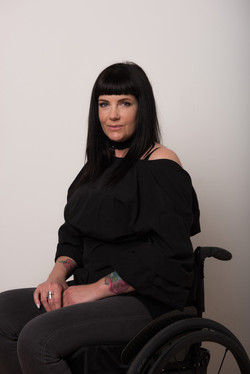 Cate, Wheelchair User, Zebedee Management, disabled, model agency, disability, Woman (4)
