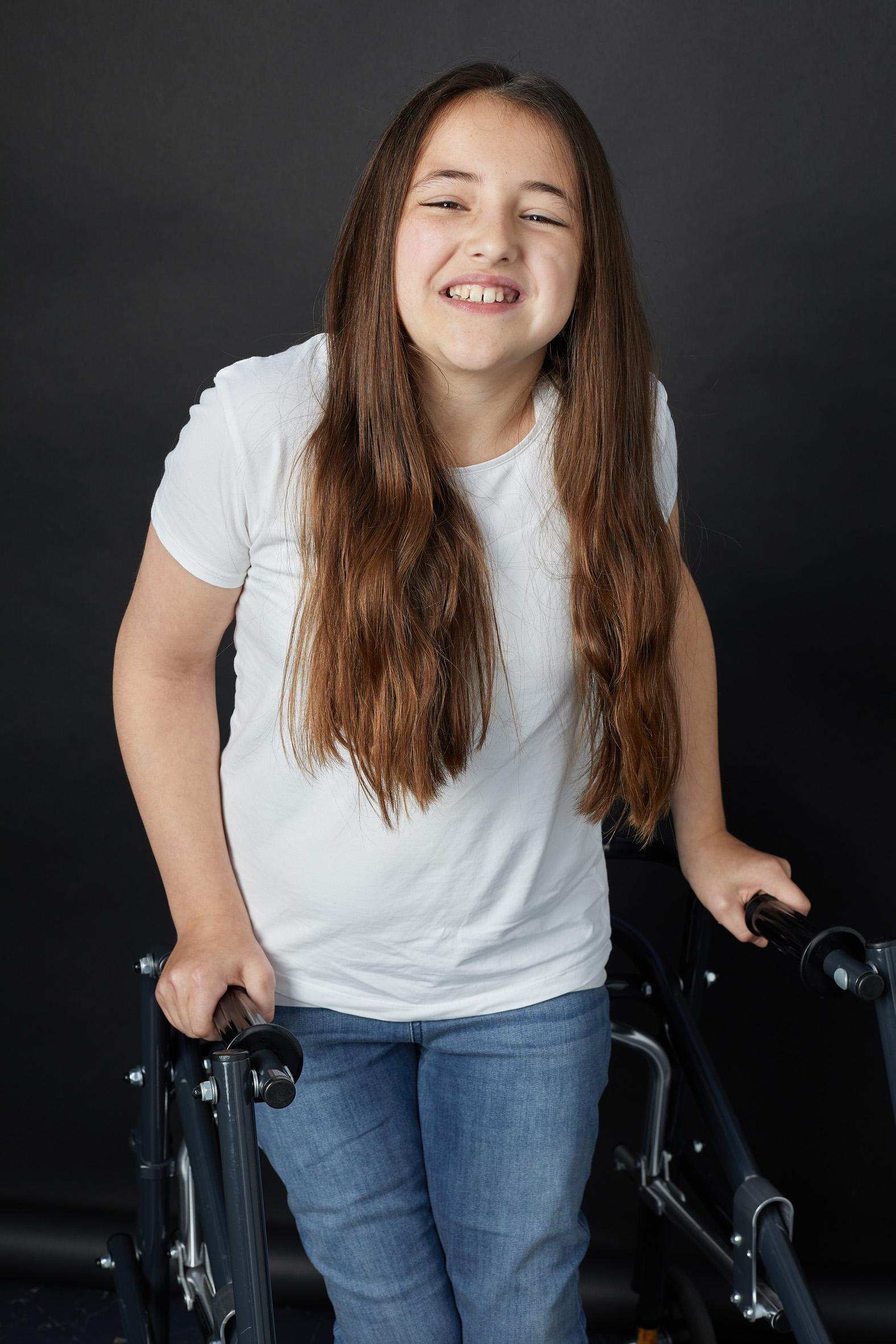Amelia, Zebedee Management, disabled, mo