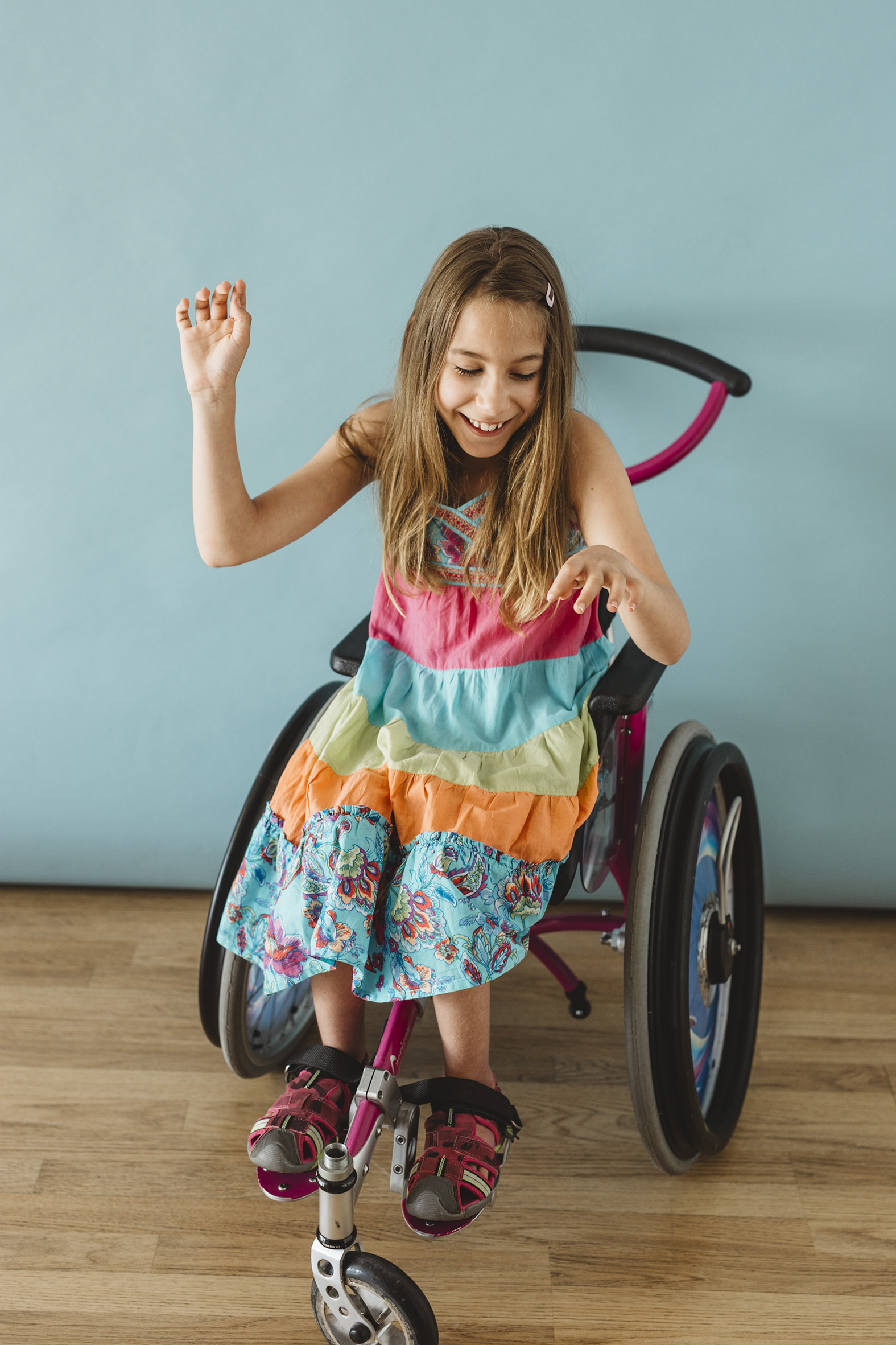 Rebecca & Charlotte, Identical Twins Cerebral Palsy, Zebedee Management, disabled, model agency, dis
