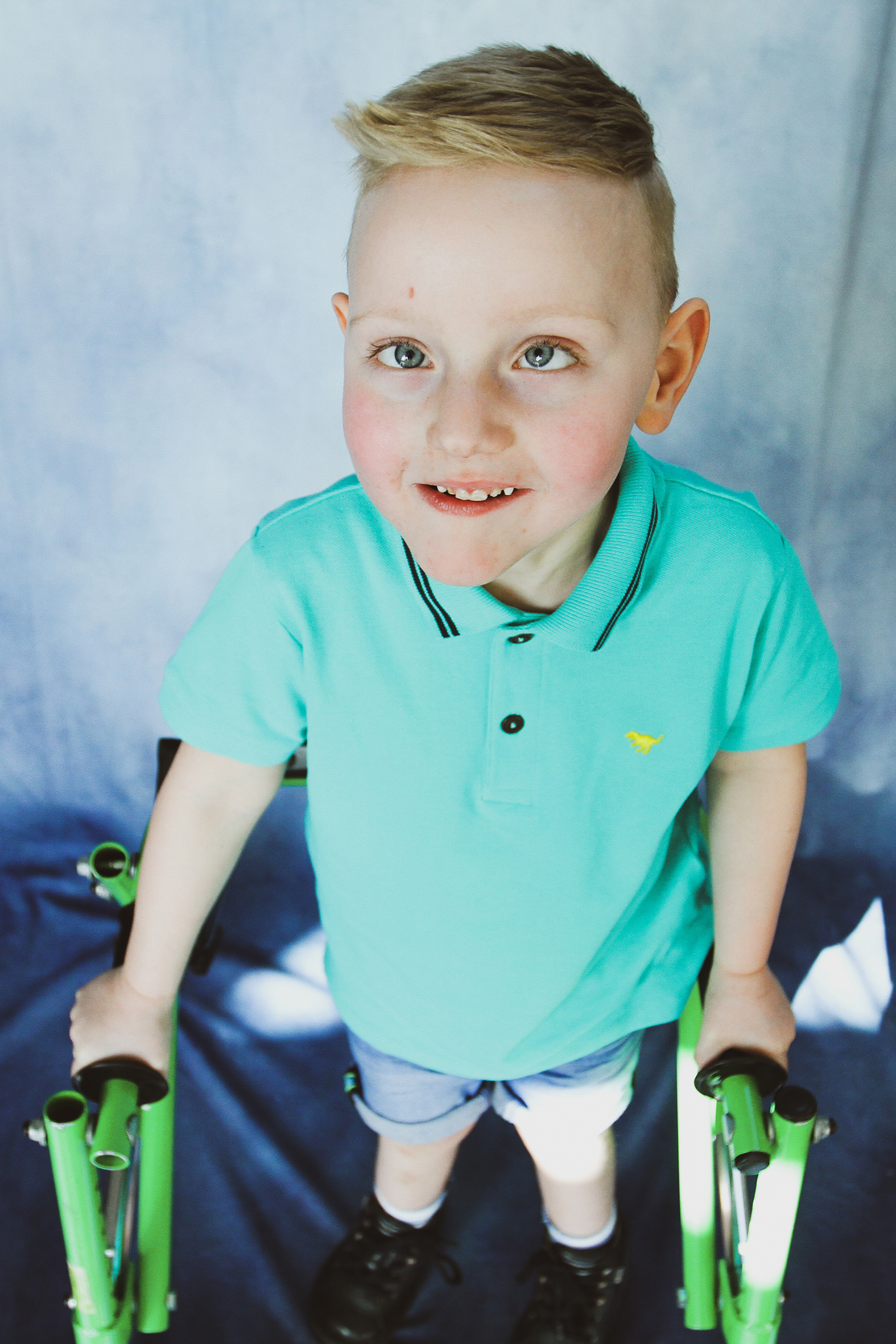 Christian, Quadriplegic cerebral palsy,
