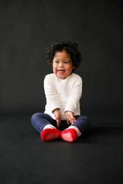 Anoushka, Down syndrome, Zebedee Managem