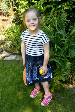Lucy, Down Syndrome model, Zebedee Manag
