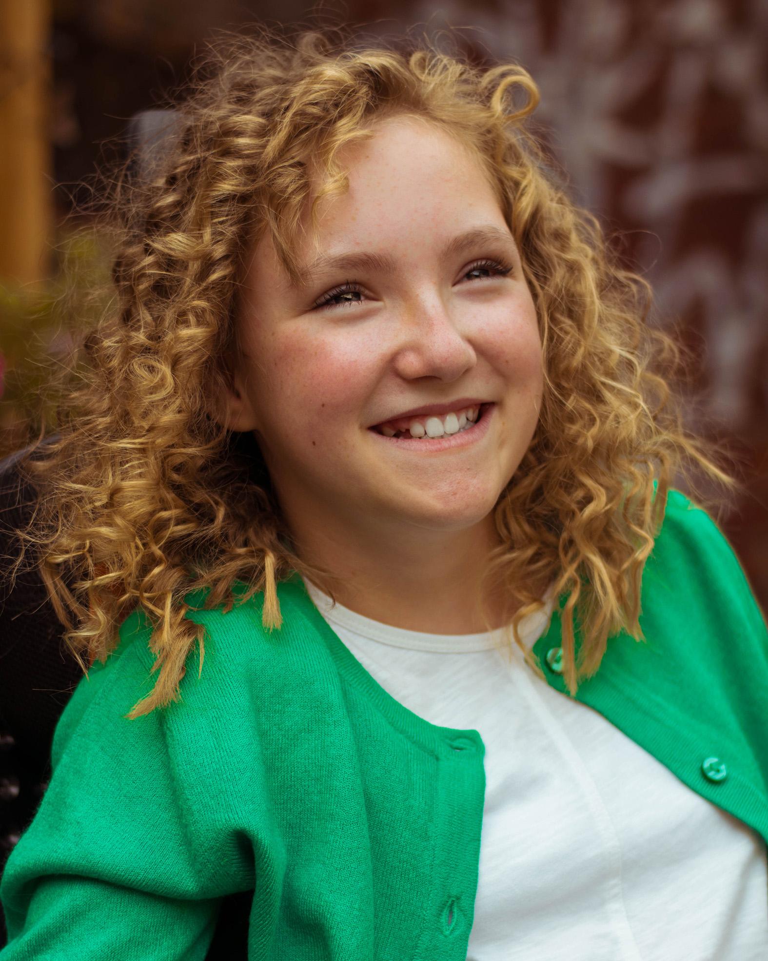Heidi, cerebral palsy, Zebedee Managemen