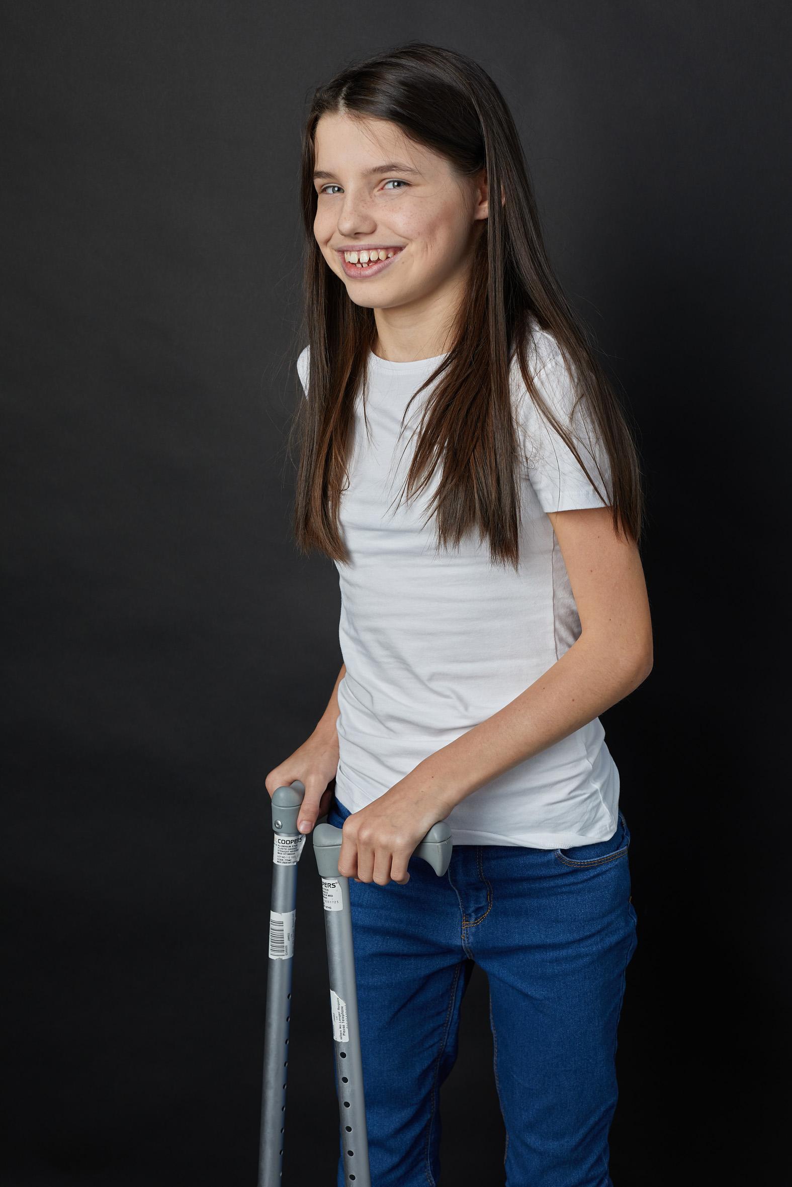 Katie,Cerebral Palsy, Zebedee Management