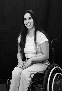 Roisin, Zebedee Management, disabled, model agency, disability, woman (2)