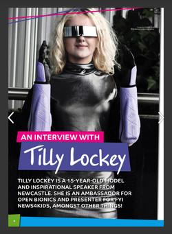Tilly, Zebedee Management, disabled, mod