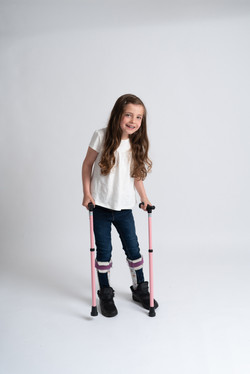 Amelia and Madeline, Zebedee Management, disabled, model agency, disability, Girls (5)