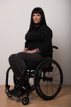 Cate, Wheelchair User, Zebedee Management, disabled, model agency, disability, Woman (5)