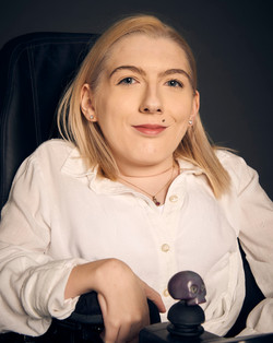 Melody, Zebedee Management, disabled, mo