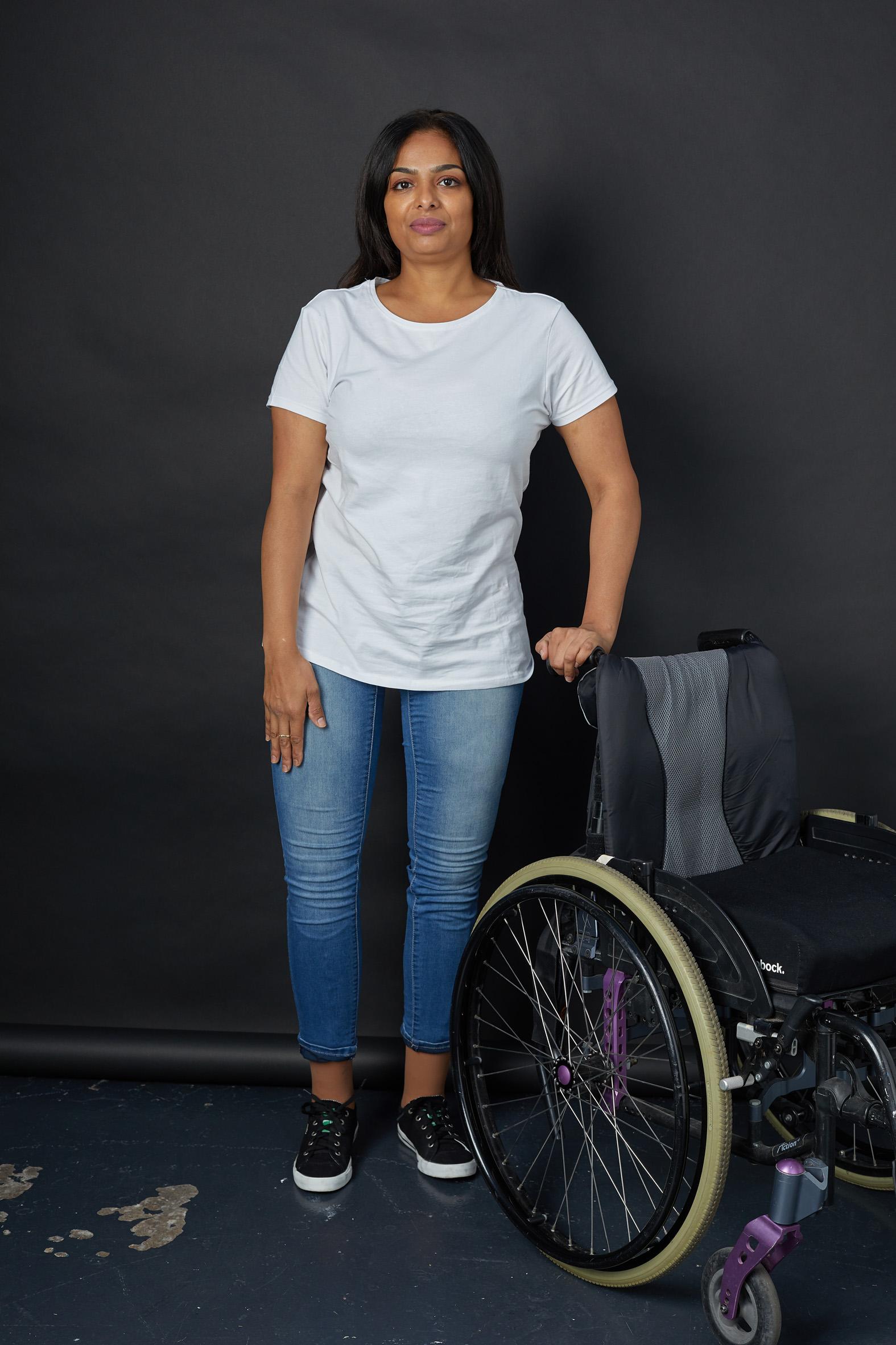 Sherine, Zebedee Management, disabled, m