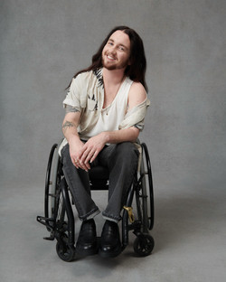 Julian, Zebedee Management, disabled, model agency, disability, differences, Man (17)