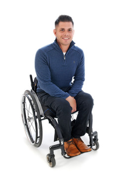 Gary, Wheelchair User, Zebedee Managemen