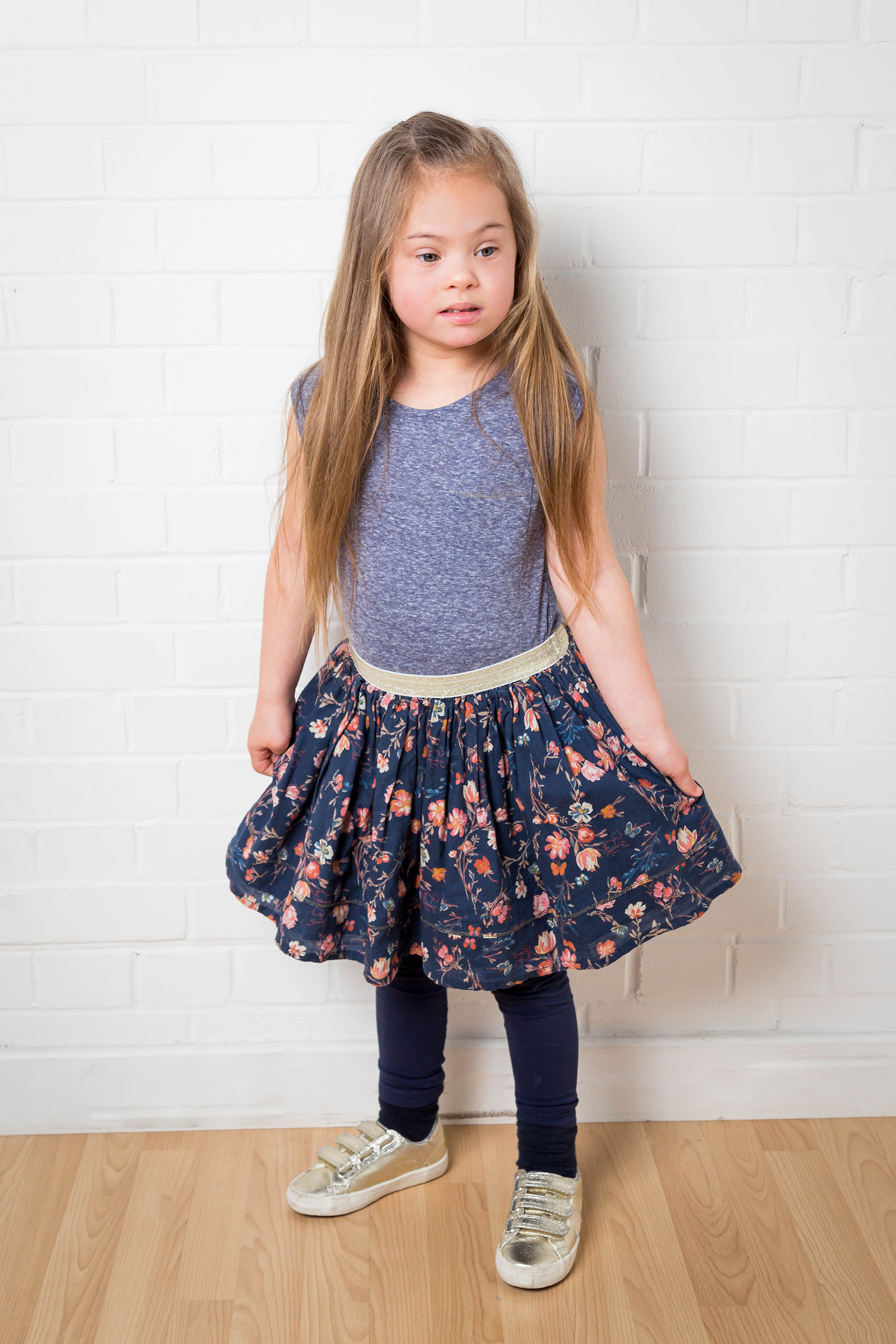 Maia, Down Syndrome model, Zebedee Management, disabled, model agency, disability, girl 05