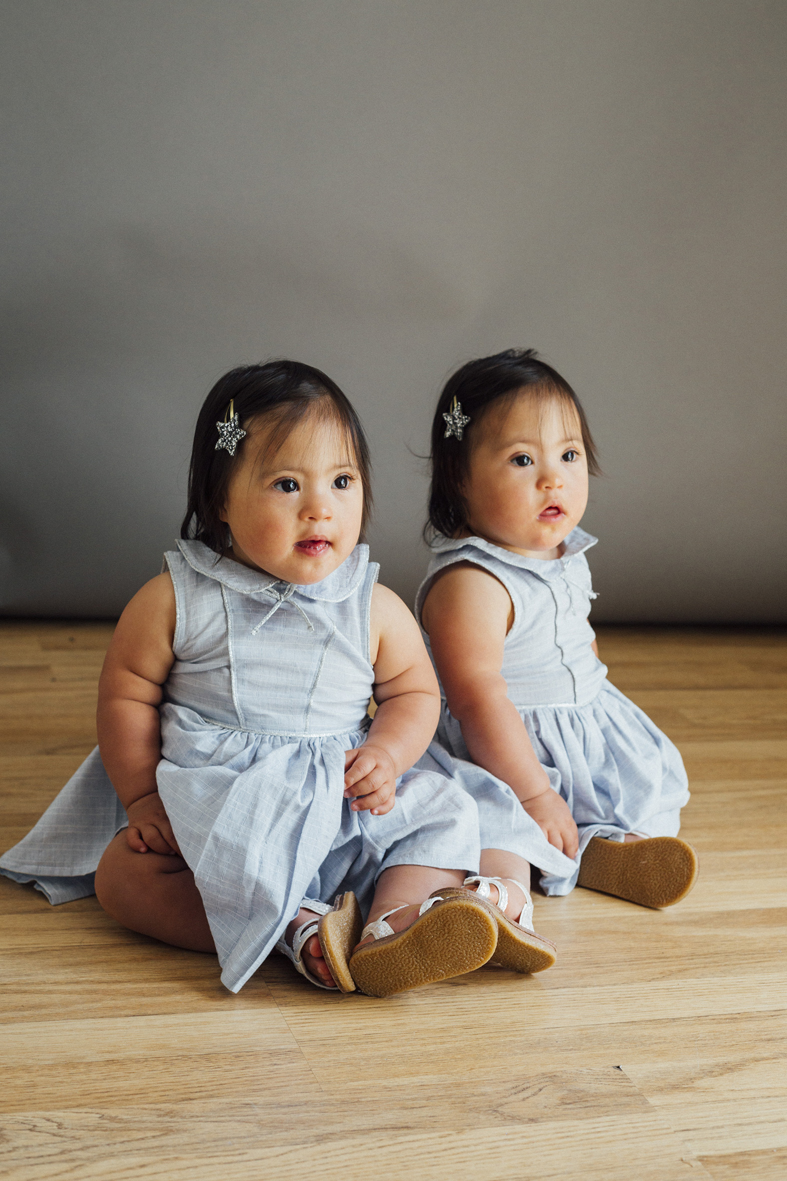 Hannah and Rachel, Down Syndrome, Zebedee Management, disabled, model agency, disability, babies 08