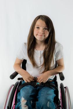 Belle-Beau, Zebedee Management, disabled, model agency, disability, Girl (1)