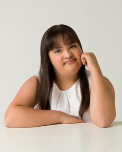 Maya, Zebedee Management, disabled, model agency, disability (1)