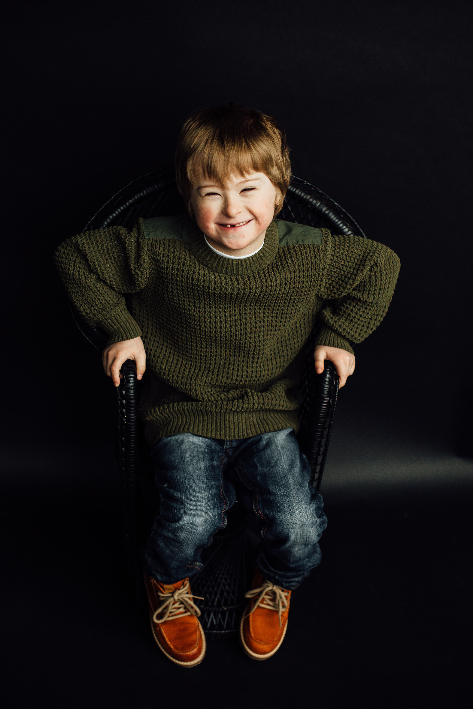 Connor, Down Syndrome, Zebedee Managemen