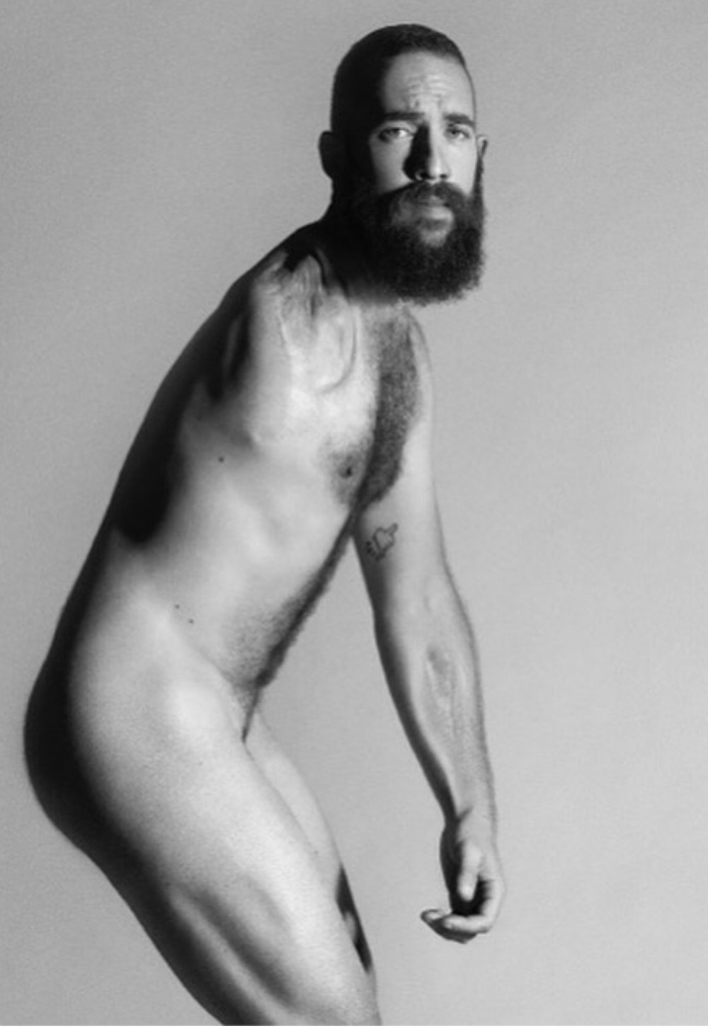 mental health, body confidence, channel 4, naked beach, male model,