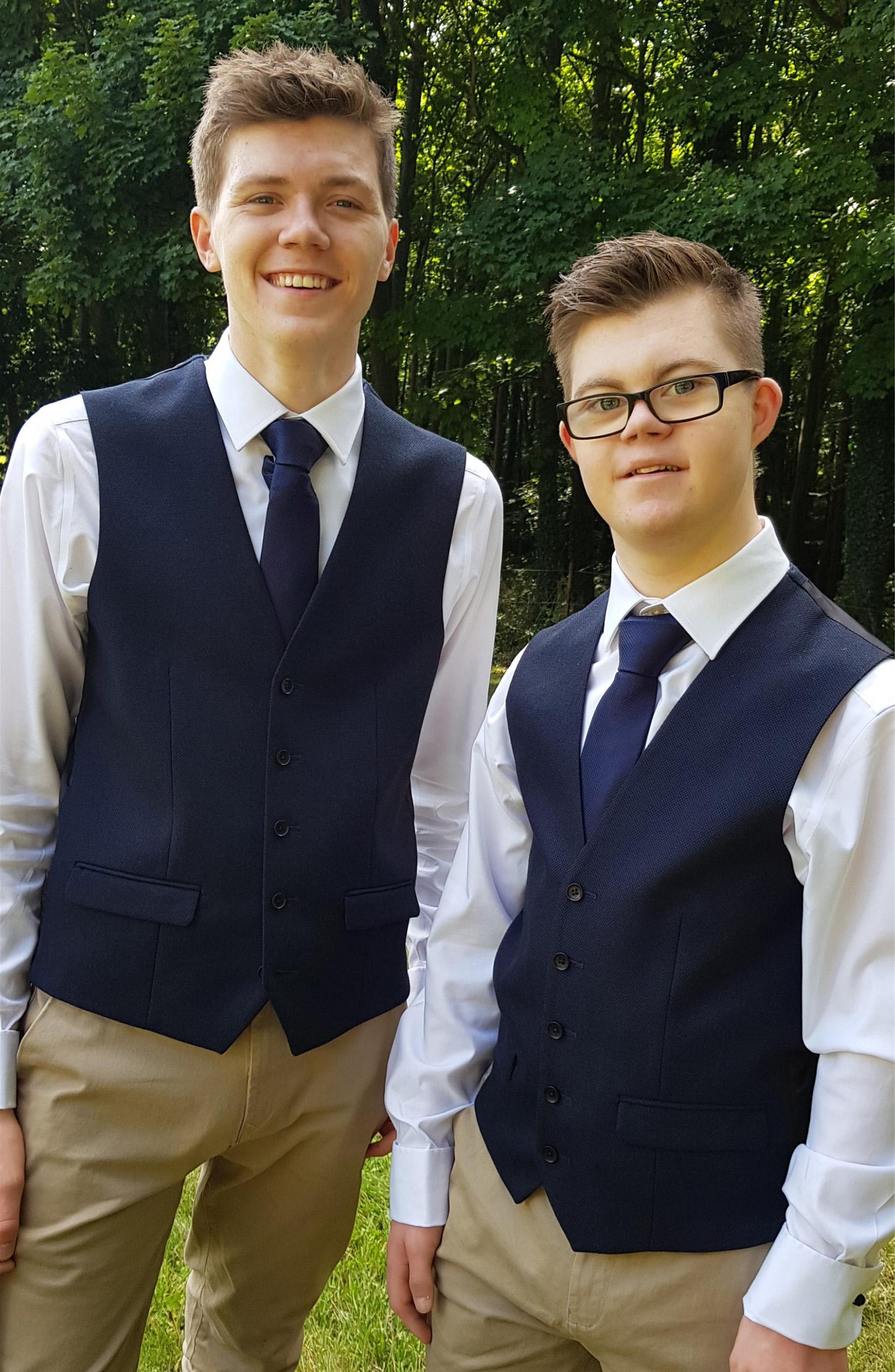 Thomas, Down Syndrome, Zebedee Managemen