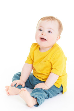 Elliott, Down Syndrome, Zebedee Management, disabled, model agency, disability, baby (4)