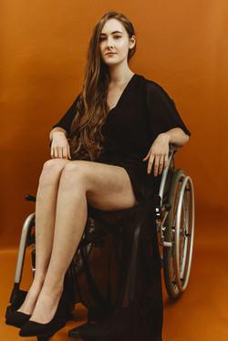 Georgina, Wheelchair User, Zebedee Manag