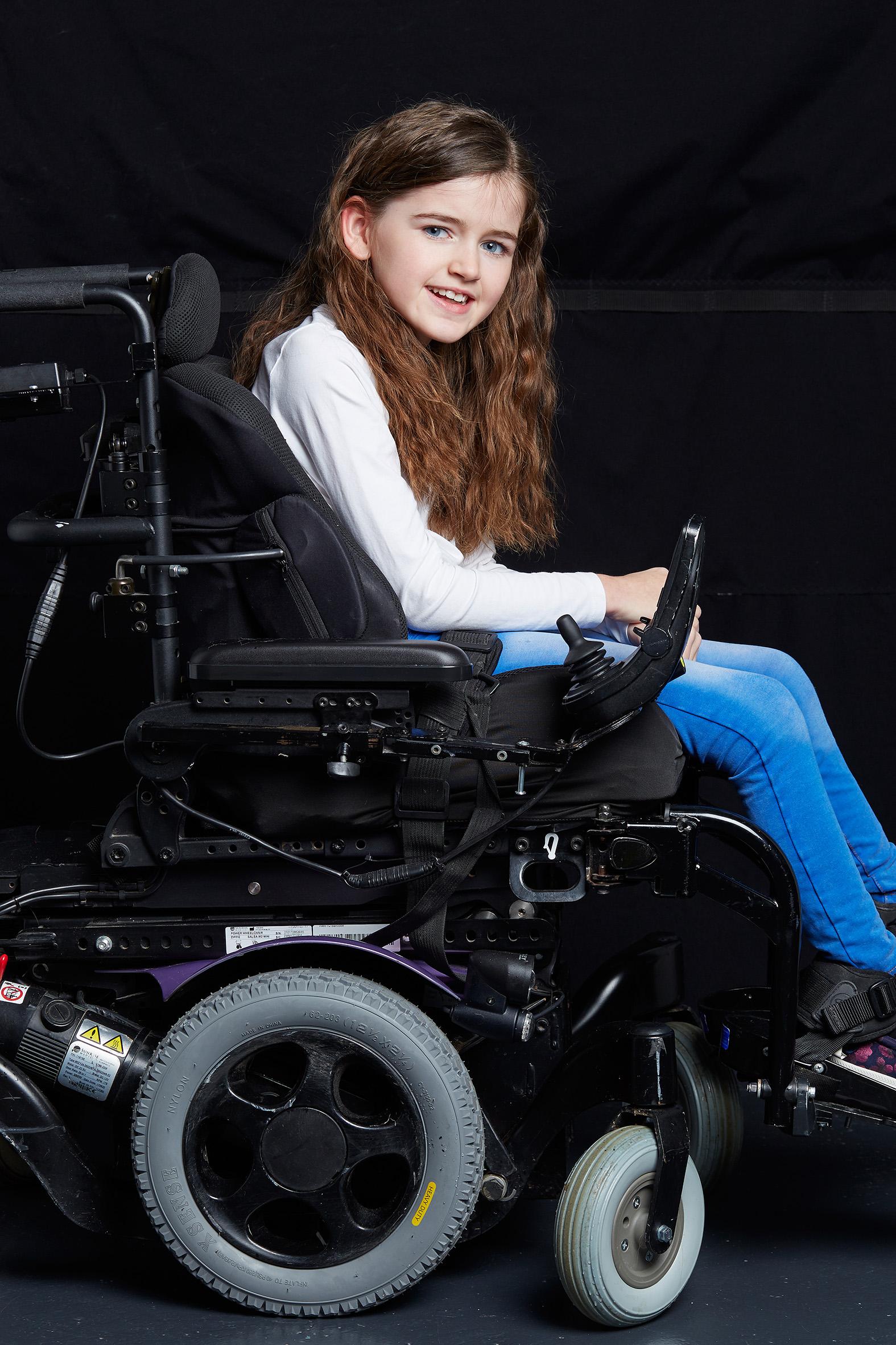 Phoebe-Rae, Cerebral Palsy, Zebedee Mana