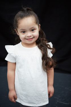 Ariana, Down Syndrome, Zebedee Managemen