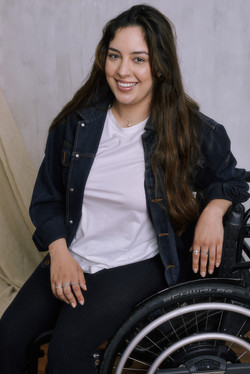 Roisin, Zebedee Management, disabled, model agency, disability, woman (4)