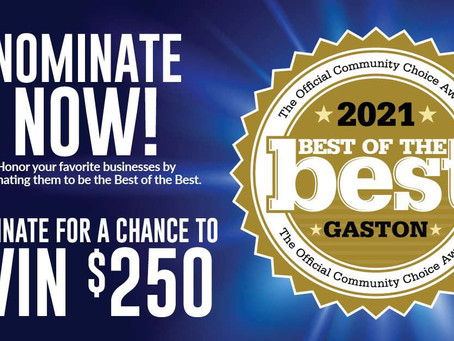 Nominate The Movers Co for The Gaston Gazette's Best of the  Best 2021