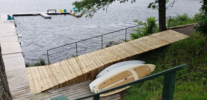 New Ramp to the Dock