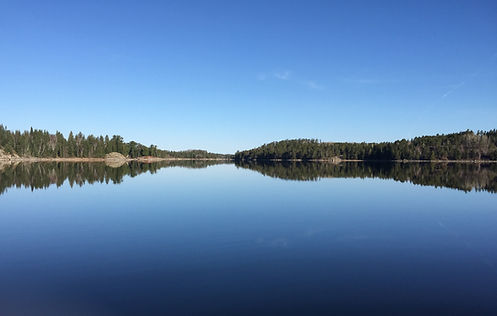 Lake of the Woods, beautiful morning