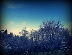 L'hiver autour du Shala