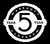 Warranty, Fire Pump Test Meter, Five Years