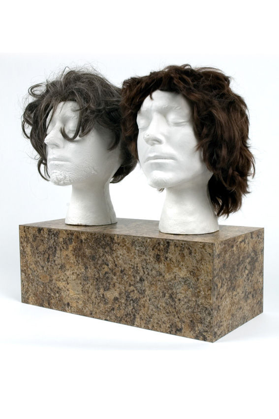 Self-Portrait as a Wig Display