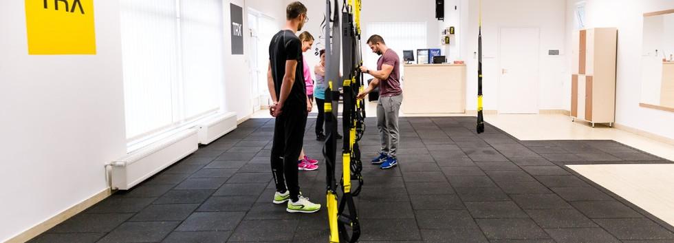 TRX edzés közben - ismerkedés a kötéllel