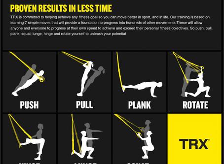 TRX gyakorlatok