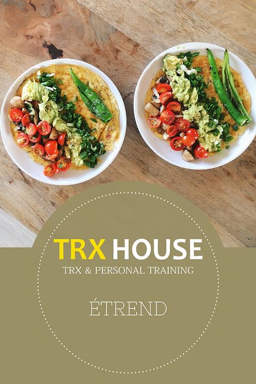 TRX House - Személyre-szabott étrend