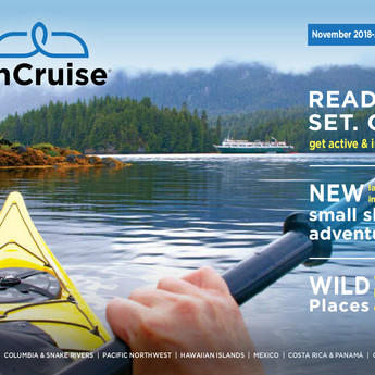 2018-2020 UnCruise Adventures print brochure