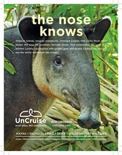UnCruise Adventures Hawaii Magazine ad