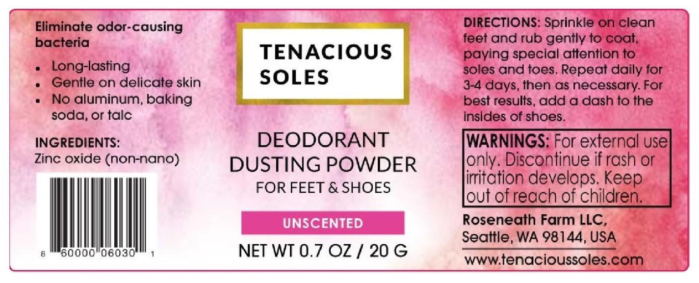 Branding for Tenacious Soles