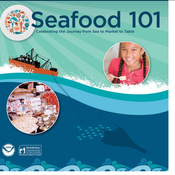 "Print and digital ""Seafood 101"" tab with The Seattle Times Newspapers In Education"