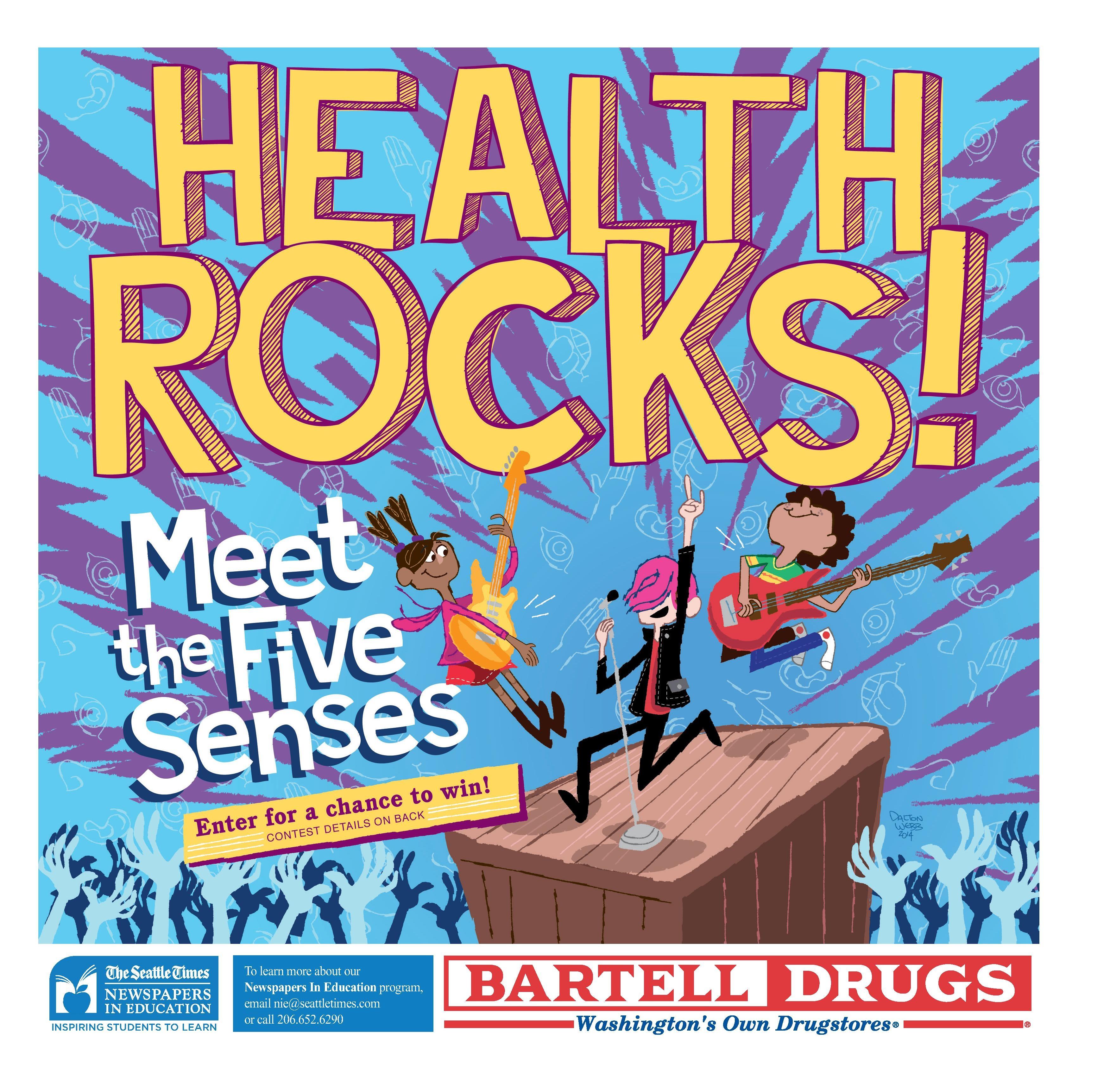 Bartell Drugs' sponsored Health Rocks ta
