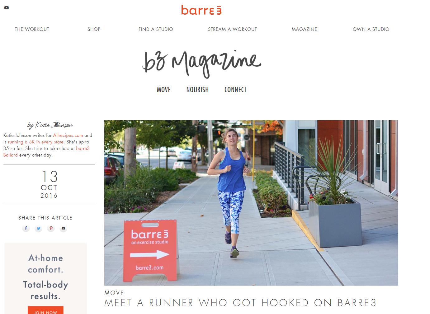 barre3 blog