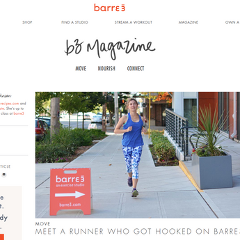 Blog for barre3