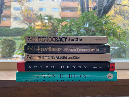 Slouching Towards Reality:           My Summer with Joan Didion